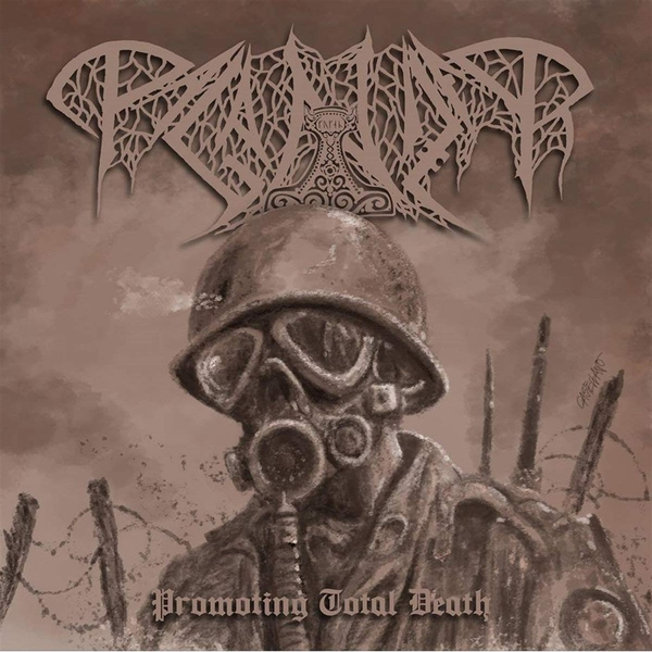 Paganizer - Promoting Total Death Limited Black  Vinyl
