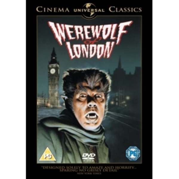 Werewolf Of London DVD