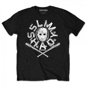 Eminem - Shady Mask Men's Large T-Shirt - Black