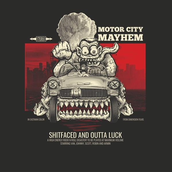 Motor City Mayhem - Shitfaced And Outta Luck Vinyl