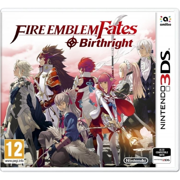 Fire Emblem Fates Birthright 3DS Game
