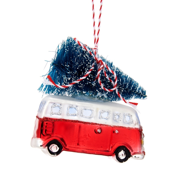 Sass & Belle Camper Van with Tree Shaped Bauble