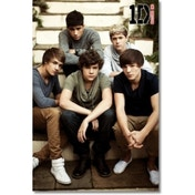 One Direction Outside Stairs Maxi Poster