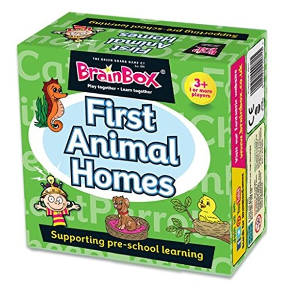 BrainBox First Animal Homes Pre School