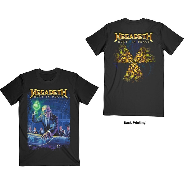 Megadeth - Rust In Peace 30th Anniversary Unisex Small T-Shirt - Black