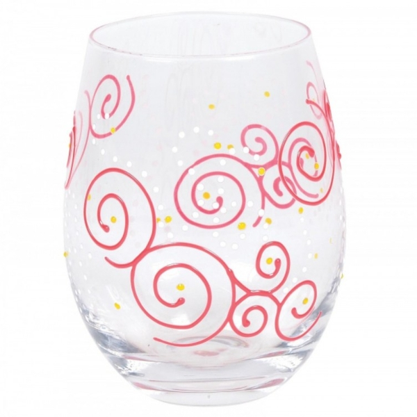 Swirls Tumbler Glass