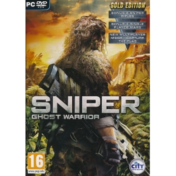 Sniper Ghost Warrior Gold Edition Game PC