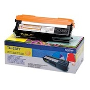 Brother TN-328Y Toner yellow, 6K pages