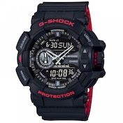 Casio G-Shock Classic Men's Quartz Analogue Watch Black/Red