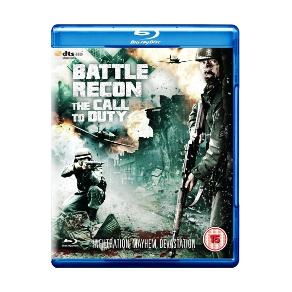 Battle Recon The Call to Duty Blu-ray