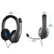 PDP LVL40 Wired Stereo Headset Grey for PS4 - Image 4