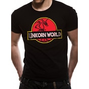 Cid Originals - Unicorn World Men's Large T-shirt - Black