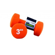 Yoga-Mad Neoprene Dumbbells 3KG
