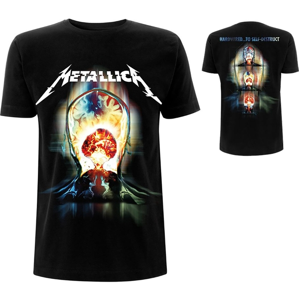 Metallica - Exploded Men's XX-Large T-Shirt - Black