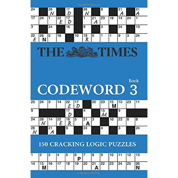 The Times Codeword 3: 150 cracking logic puzzles by The Times Mind Games (Paperback, 2011)
