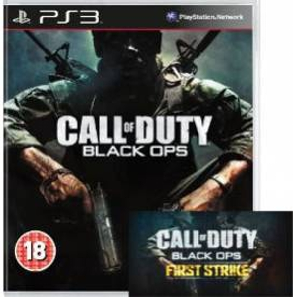 Call of Duty Black Ops Game + First Strike Map Pack Code PS3 ... Black Ops First Strike Maps on