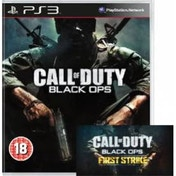 Call of Duty Black Ops Game + First Strike Map Pack Code PS3