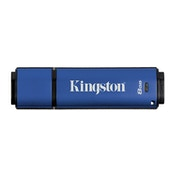 Kingston Technology 8GB Data Traveler Vault Privacy USB 3.0 Hardware Encrypted Drive