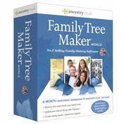 Family Tree Maker World Edition Software PC
