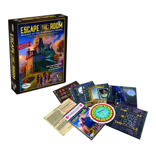 Escape The Room: Mystery at the Stargazers Manor Party Board Game