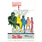 James Bond - Dr. No Postcard