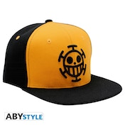 One Piece - Trafalgar Snapback Cap - Black & Yellow