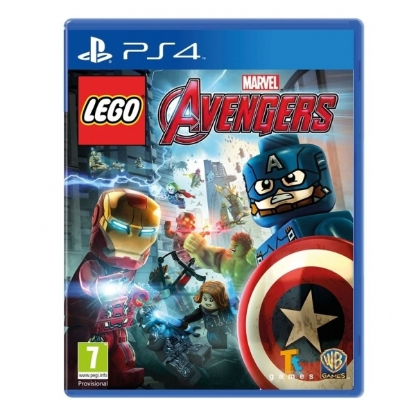 Lego Marvel Avengers PS4 Game (with Thunderbolts Character Pack)