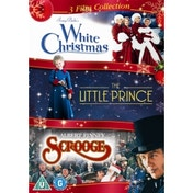 White Christmas/The Little Prince/Scrooge Christmas DVD