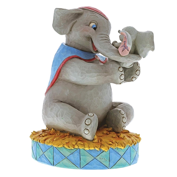 A Mother's Unconditional Love Mrs Jumbo & Dumbo (Dumbo) Disney Traditions Figurine
