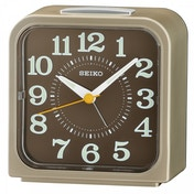 Seiko QHK048S Bell Alarm Clock with Snooze & Light Light Gold