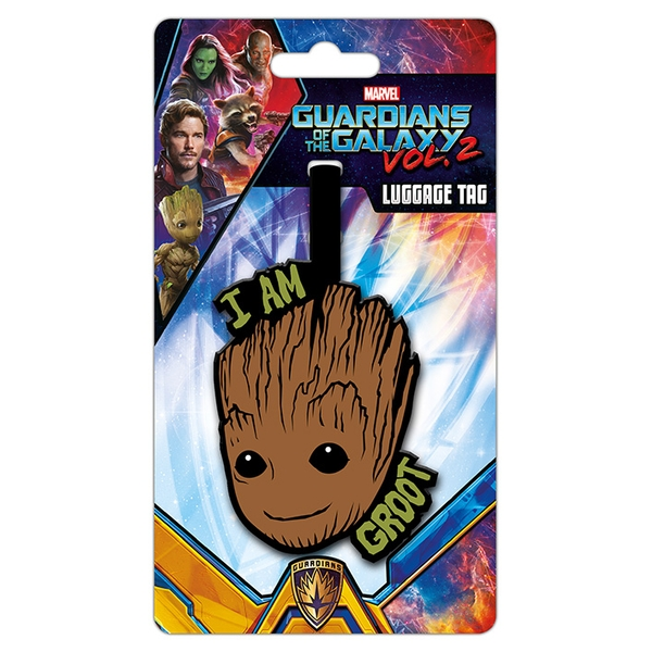 Guardians Of The Galaxy Vol. 2 - I Am Groot Luggage Tag