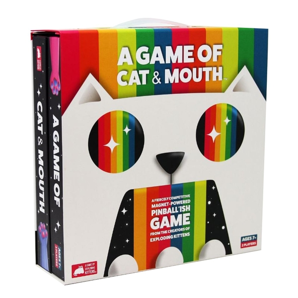 Image of A Game of Cat & Mouth Board Game