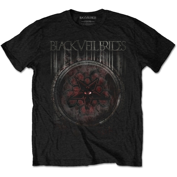 Black Veil Brides - Rusted Unisex Large T-Shirt - Black