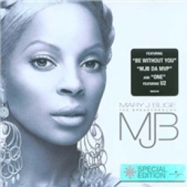 Mary J. Blige The Breakthrough CD