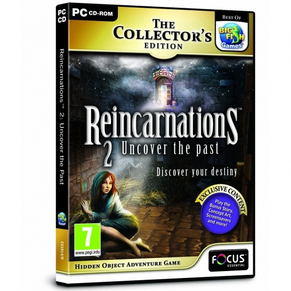 Reincarnations 2 Uncover the Past Collector's Edition Game PC