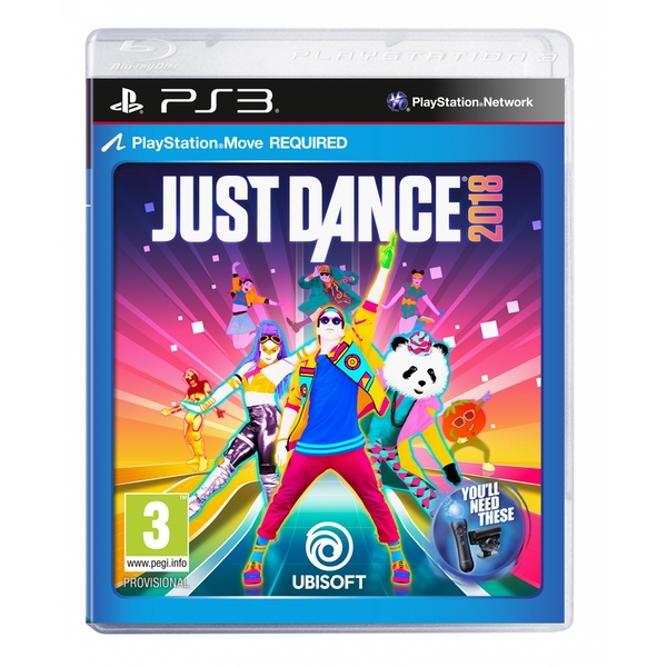 Just Dance 2018 PS3 Game - Image 1