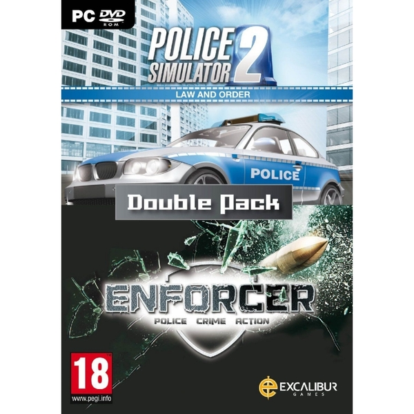 Law & Order Double Pack (Enforcer & Police Sim 2) PC DVD Game - Image 1