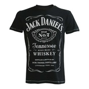 Jack Daniel's - Classic Logo Men's XXX-Large T-Shirt - Black