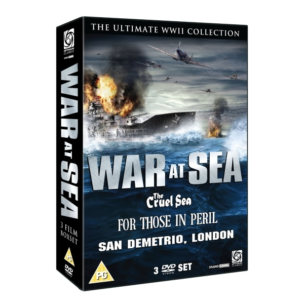 War At Sea - The Cruel Sea/For Those In Peril/San Demetrio DVD