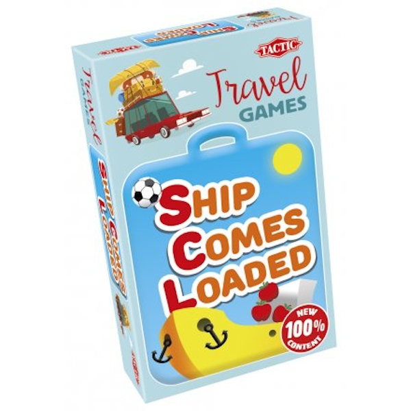 Ship Comes Loaded - Travel Edition Board Game