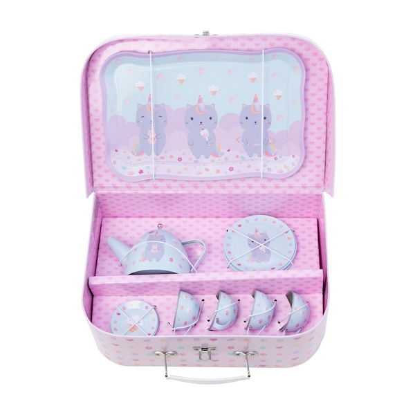 Sass & Belle Luna Caticorn Kid's Tea Set