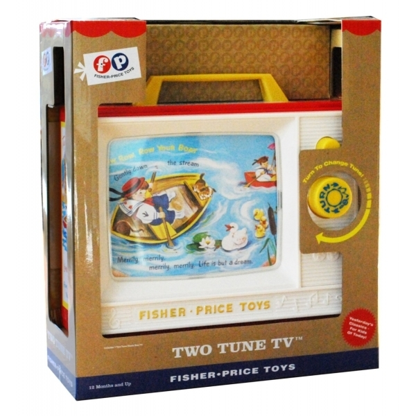 Like Toy Tv : Ex display fisher price childrens classics two tune tv