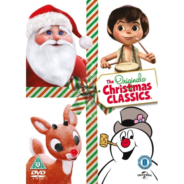 The Original Christmas Classics Rudolph The Red-Nosed Reindeer/Frosty the Snowman/Santa Claus DVD