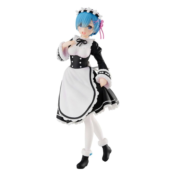 Image of Re: Zero Starting Life in Another World PVC Statue Pop Up Parade Rem: Ice Season Ver. 17 cm
