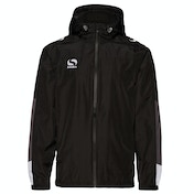 Sondico Venata Rain Jacket Adult Small Black/White/Grey