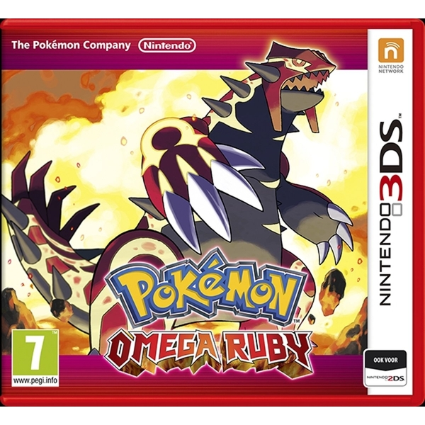 Pokemon Omega Ruby 3DS Game - Image 1