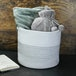 Cotton Rope Storage Basket | M&W - Image 2