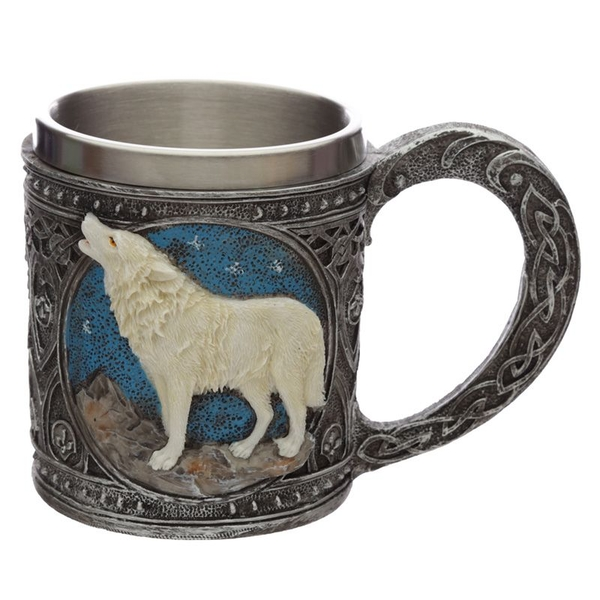 Protector of the North Night of the Wolf Decorative Tankard