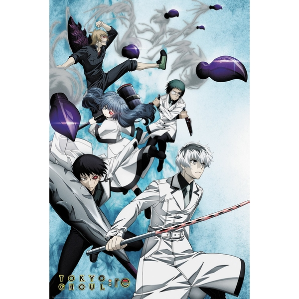 Tokyo Ghoul RE - Key Art 2 Maxi Poster