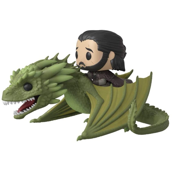 Jon Snow with Rhaegal Game of Thrones Funko Pop Rides #67
